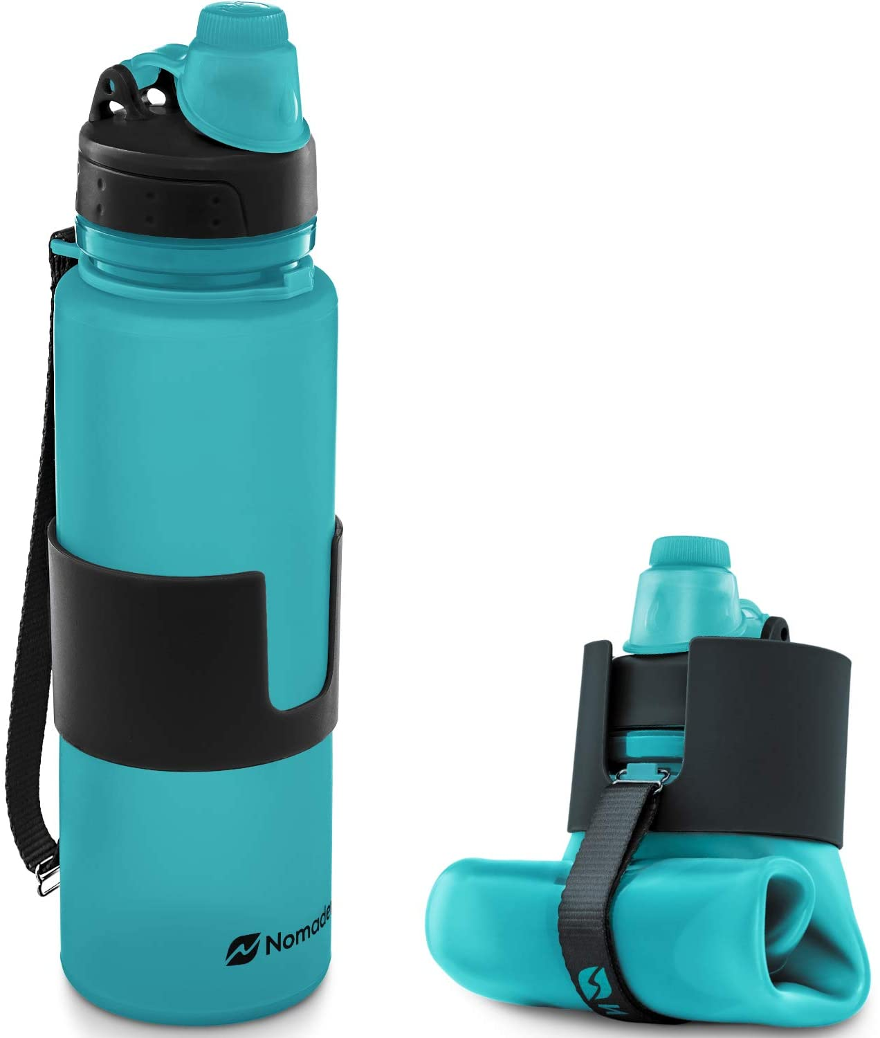 Outdoor Exercise Cheap Job Lot Bargain 10 Collapsible Foldable Water Bottles
