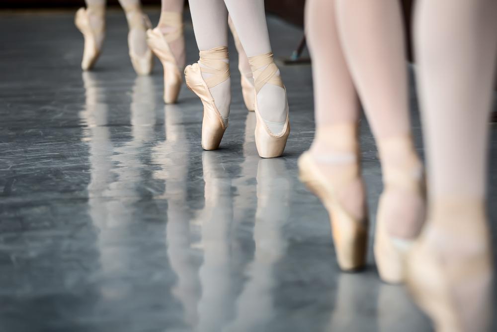 ballerinas lined up