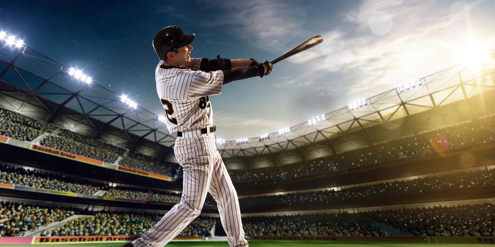 batter hitting home run